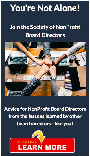 Join the Society of NonProfit Board Directors